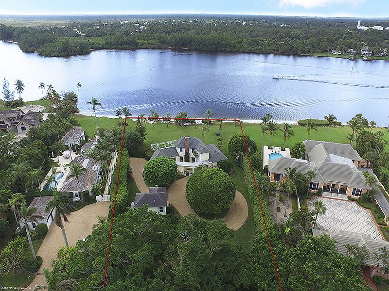 Single Family Home for Sale at Scenic & Secluded Riverfront Living Jupiter Island, Florida,33455 United States