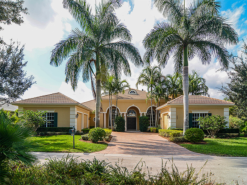 Single Family Home for Sale at Meticulous Medalist Village Residence Hobe Sound, Florida,33455 United States